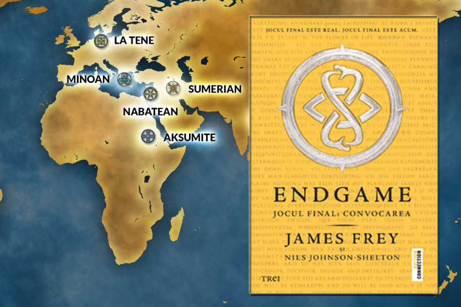 Endgame. Jocul final - Convocarea de James Frey, Nils Johnson-Shelton